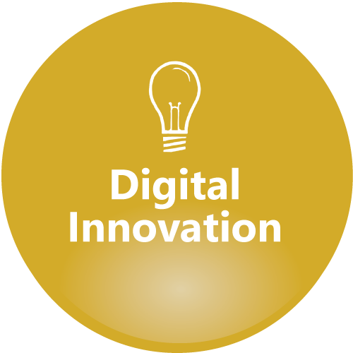 Digital Innovation yellow icon