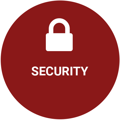 Security grey icon