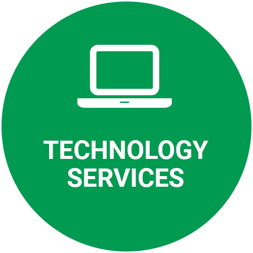Technology Services green icon